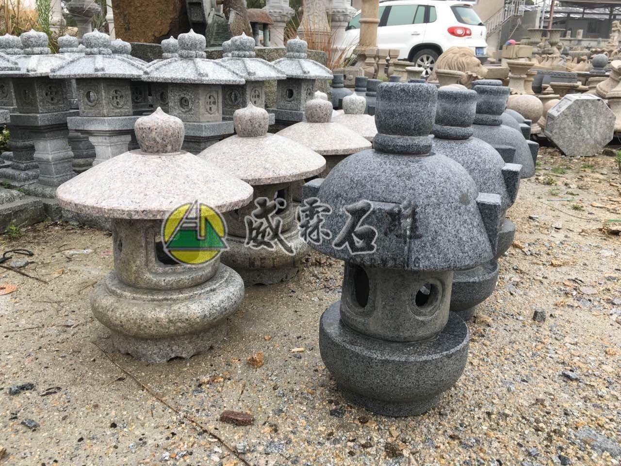 石燈,石擋-89