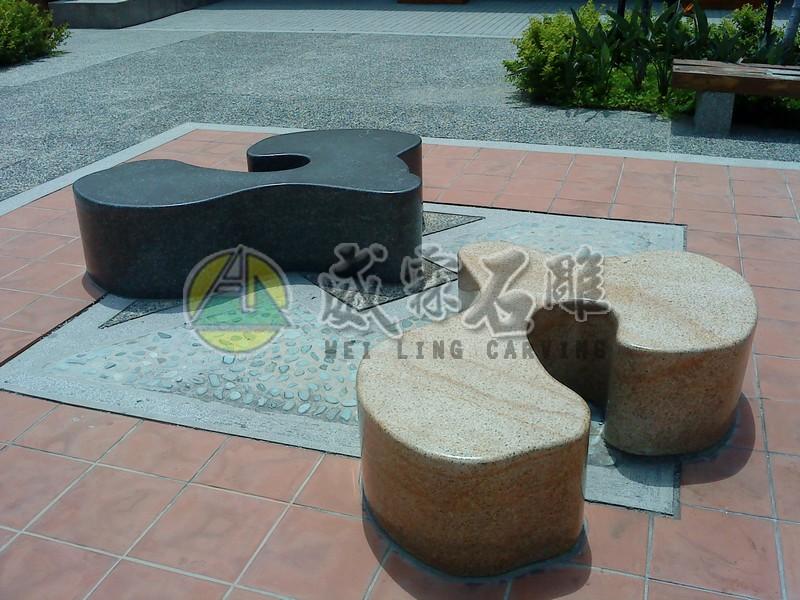 石桌,石椅-2