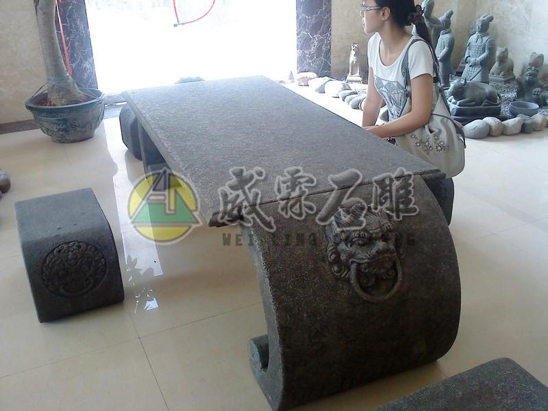 石桌,石椅-4