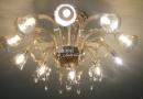 JA-W-00034-琥珀水晶玻璃吸頂燈-10燈