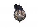 JA-Z-00041-琥珀玻璃屋外壁燈-25CM