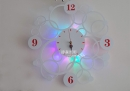 JA-B-00143-LED小夜燈時鐘壁燈-套圈-白