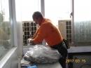 清潔整理施作中