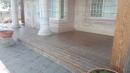 雲林縣虎尾鎮外牆南方松油漆高壓清洗,護木油噴漆,實木桌噴漆 (2)