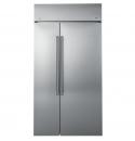 CSB48WSKSS-全崁不銹鋼對開門冰箱
