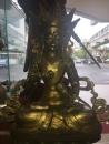 銅雕:西藏佛