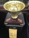純金電鍍金飯碗(鋅合金)