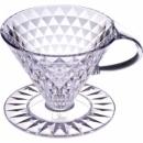【寵物與咖啡廳】日本KEY COFFEE 鑽石濾杯 1~4人 錐型