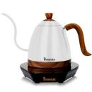 【寵物與咖啡廳】Brewista Artisan 600ml 細長嘴可調溫不銹鋼電水壺-珍珠白