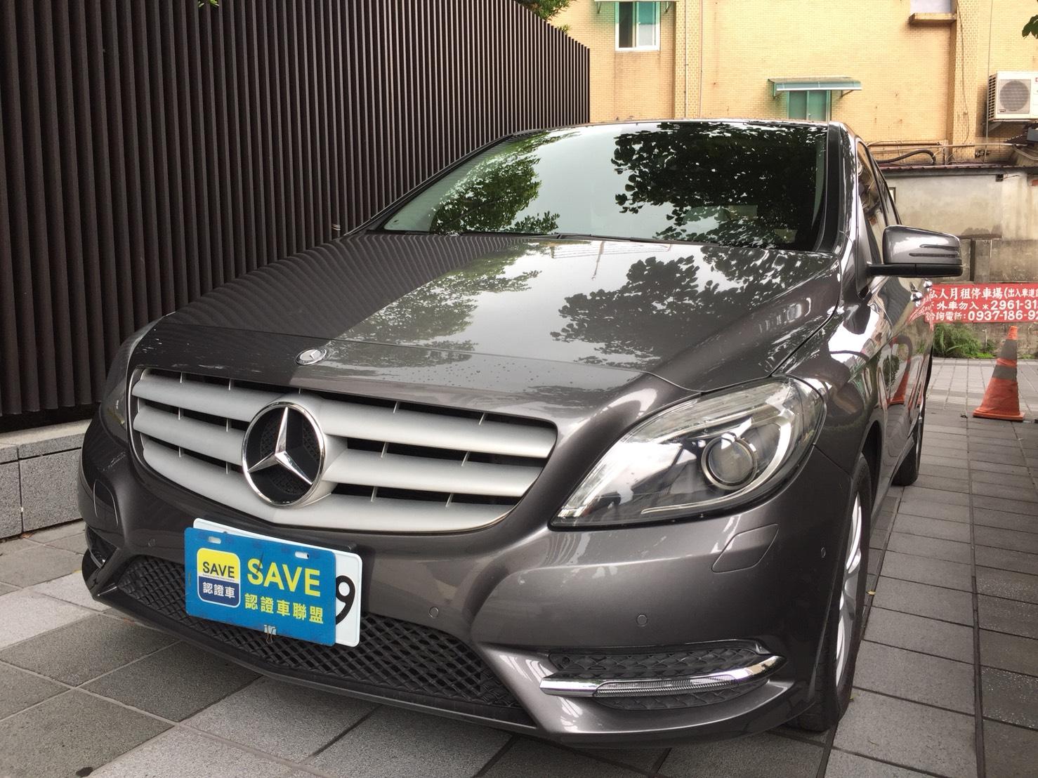 BENZ B180/1600C.C./灰色2014年/售價:79.8萬