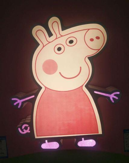 粉紅豬豬40W吸頂燈