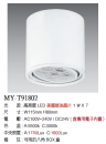 LED 7W 桶燈