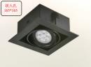 AR 有邊框盒燈/1燈黑