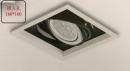 AR 細邊框盒燈/1燈