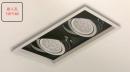 AR 細邊框盒燈/2燈