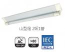 億光 LED T8 2呎*1 山型燈