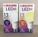 東亞 LED 13W 球泡燈