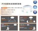 舞光 LED 16W 微波感應吸頂燈