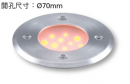 崁7CM LED 2W 地底燈