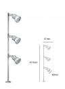 LED MR16 櫥櫃立燈/三燈