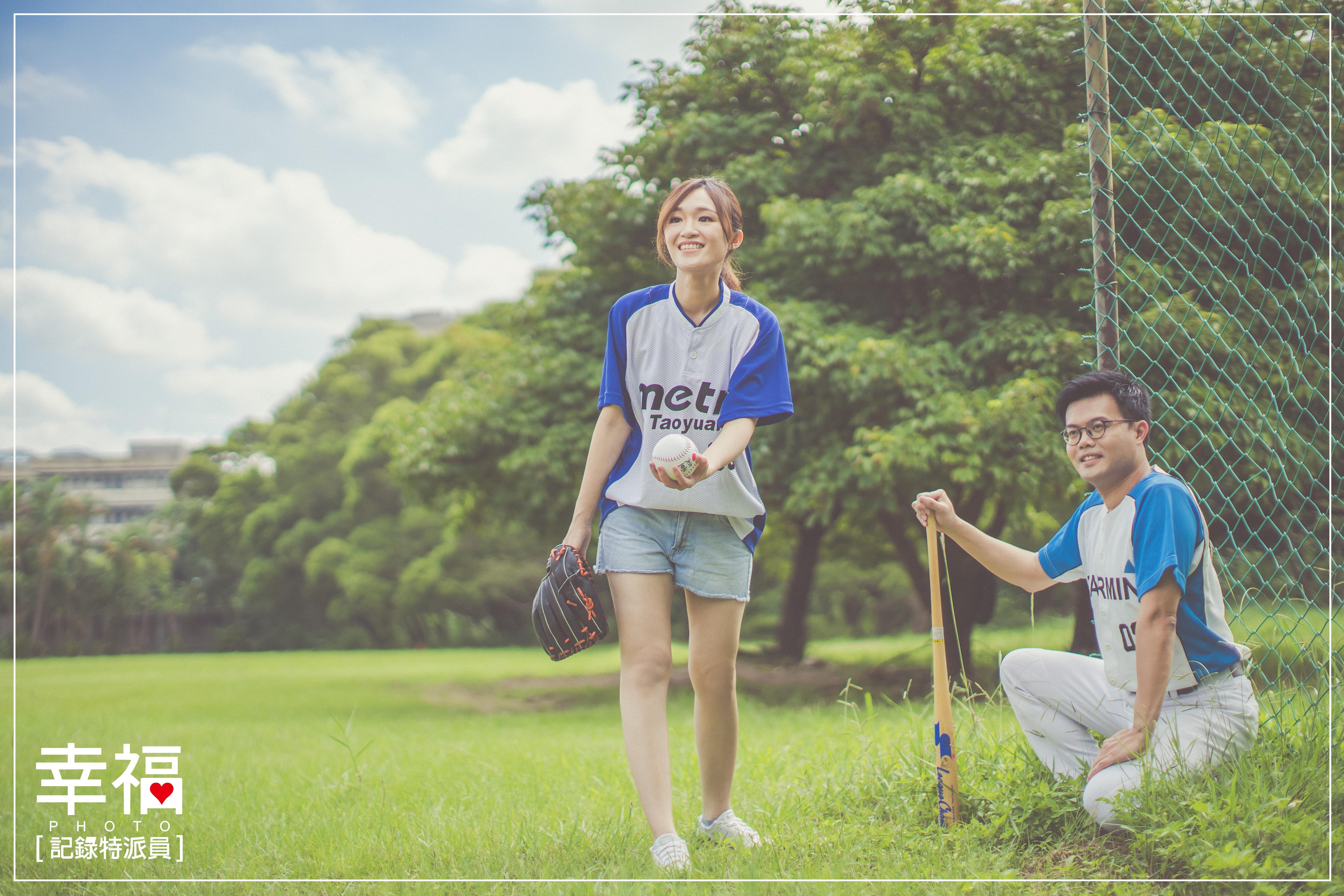 【婚紗攝影】熱情棒球魂