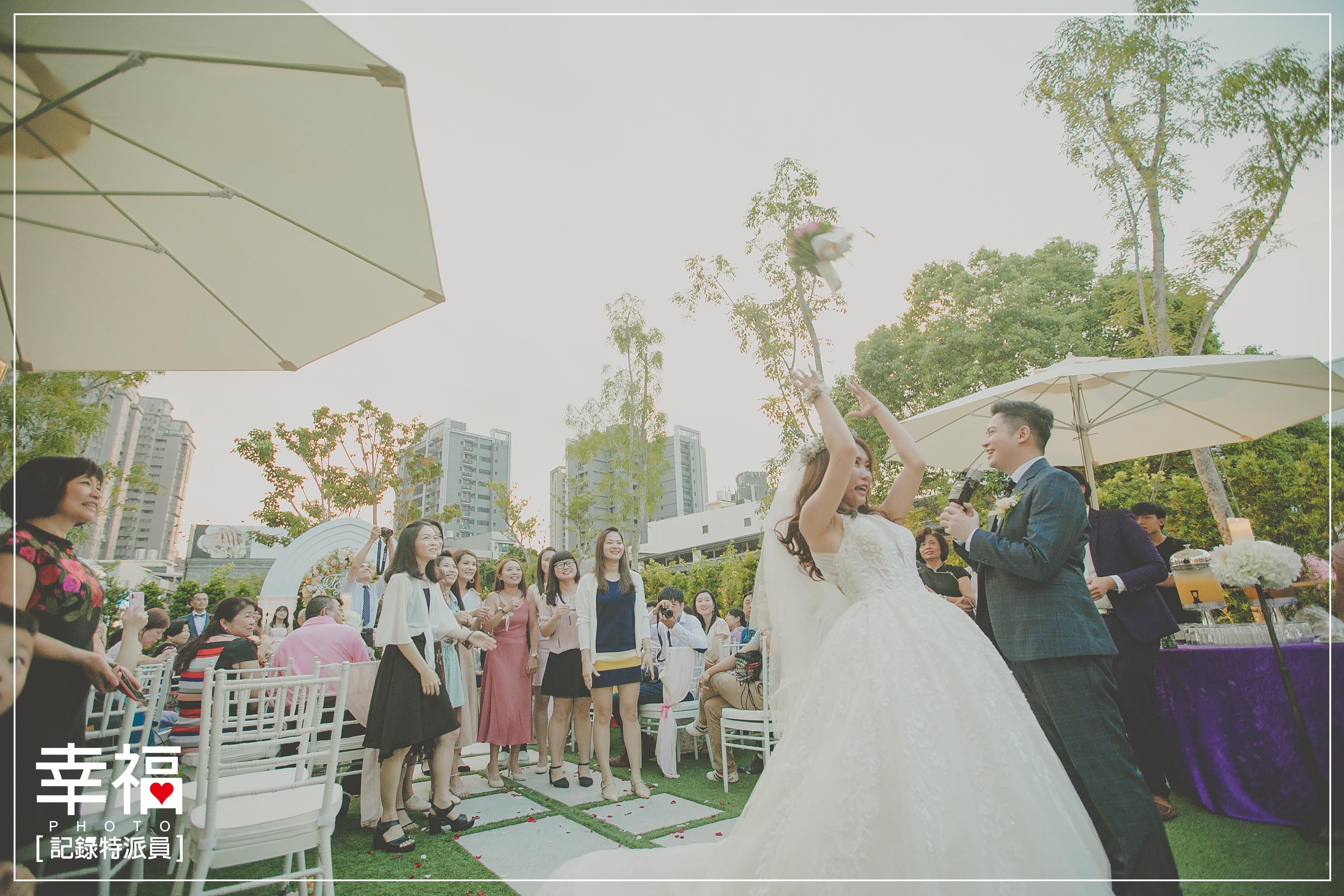 『婚禮記錄』青青格麗絲莊園戶外證婚