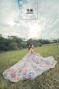 【婚紗攝影】青青草地