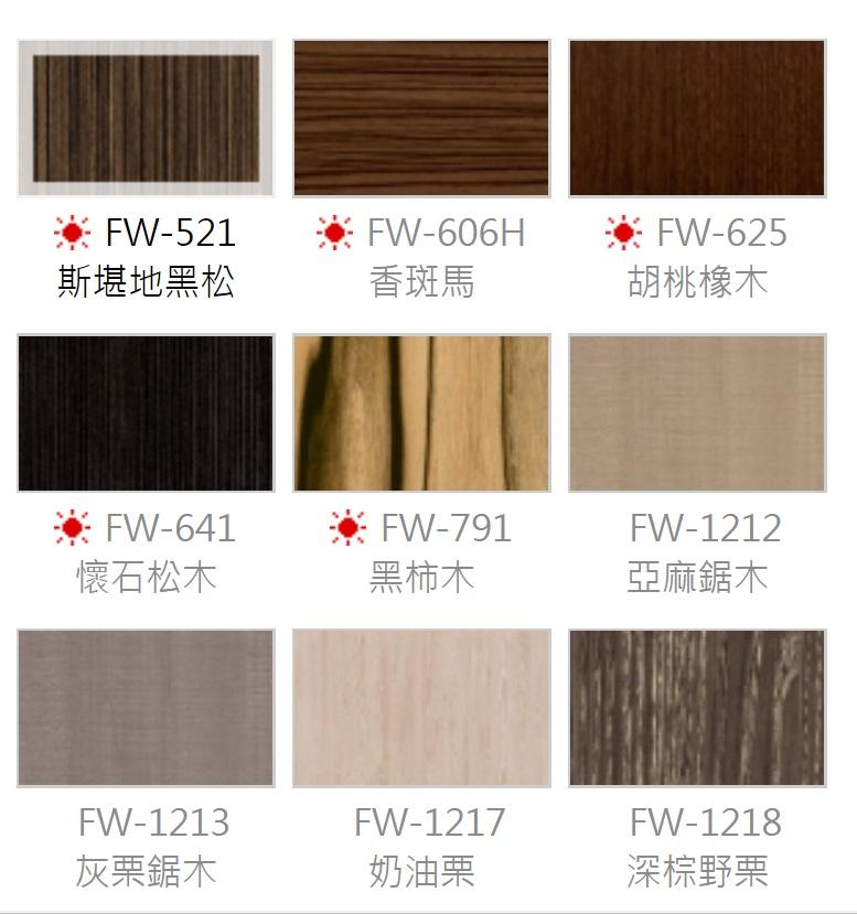 FW木紋系列- 牆壁更新