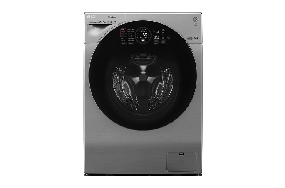 樂金 LG WiFi 極窄美型滾筒洗衣機 12KG 蒸洗脫烘 WD-S12GV