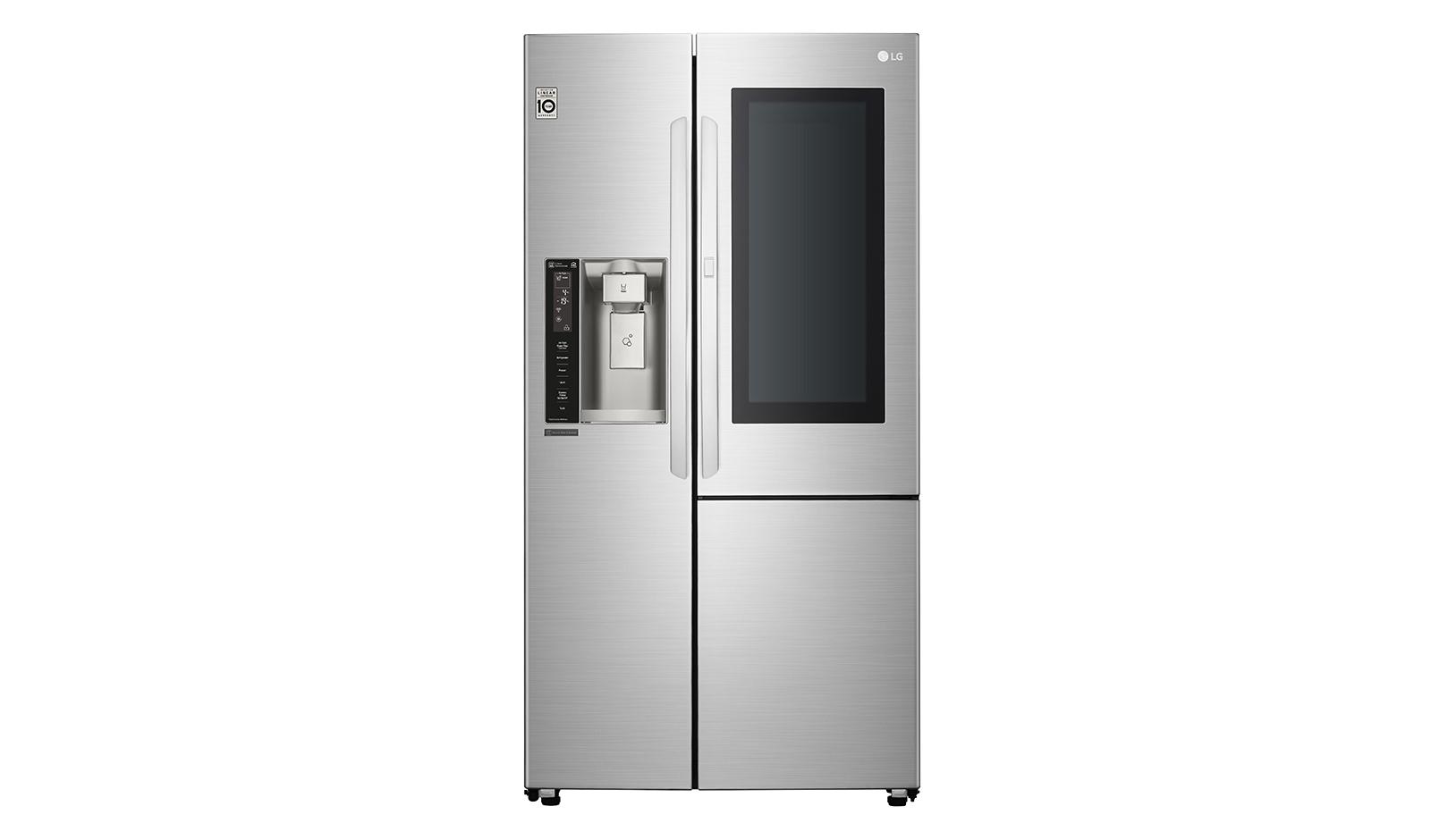 LG 敲敲看門中門冰箱 761L 樂金 星辰銀 電冰箱 GR-QPL88SV