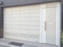 豪華型平板門+連動式電動小門