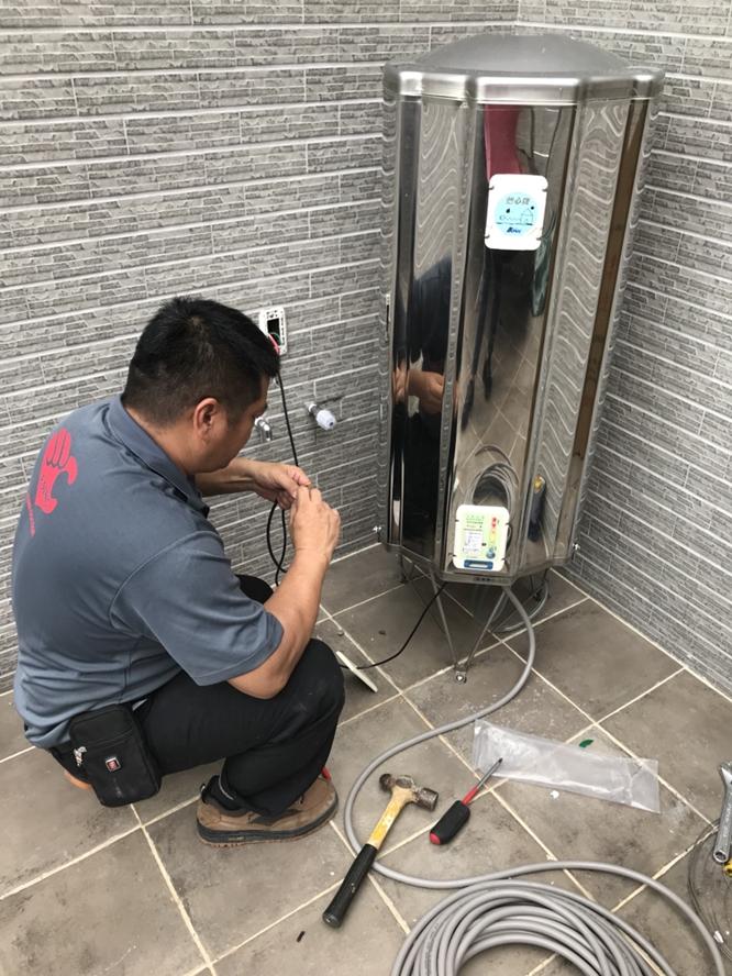 安裝電熱水器