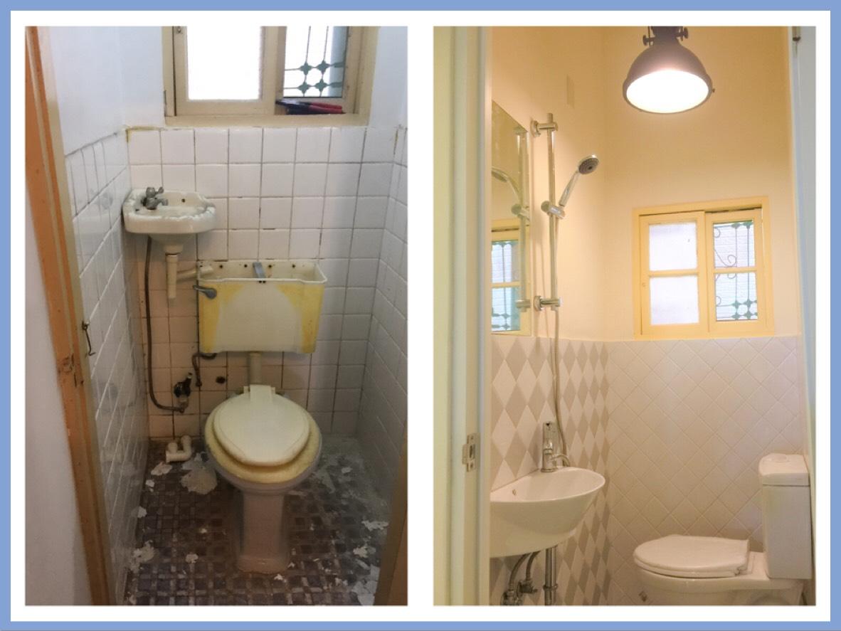 老舊浴廁翻修工程