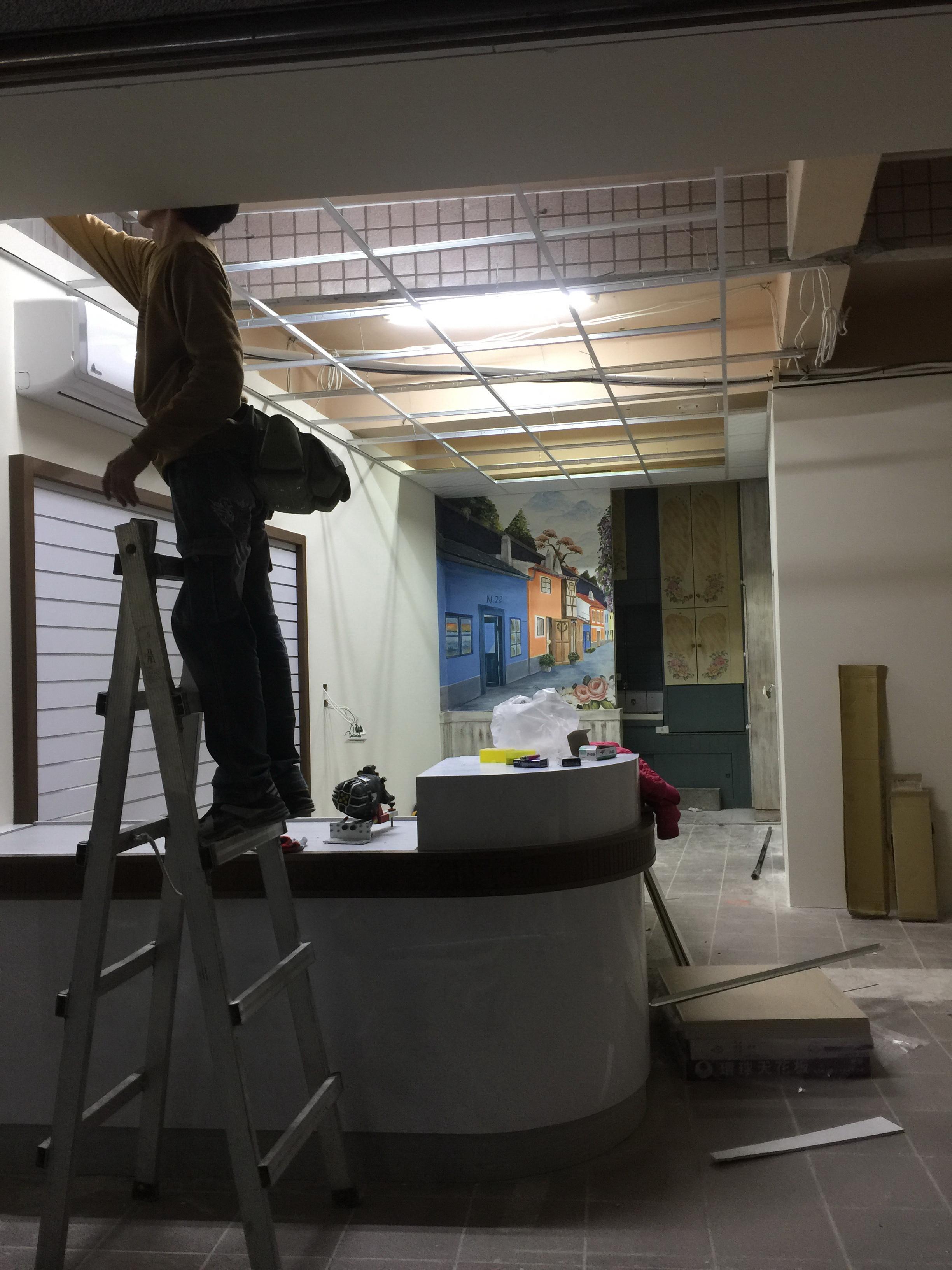 14.天花板輕鋼架施工