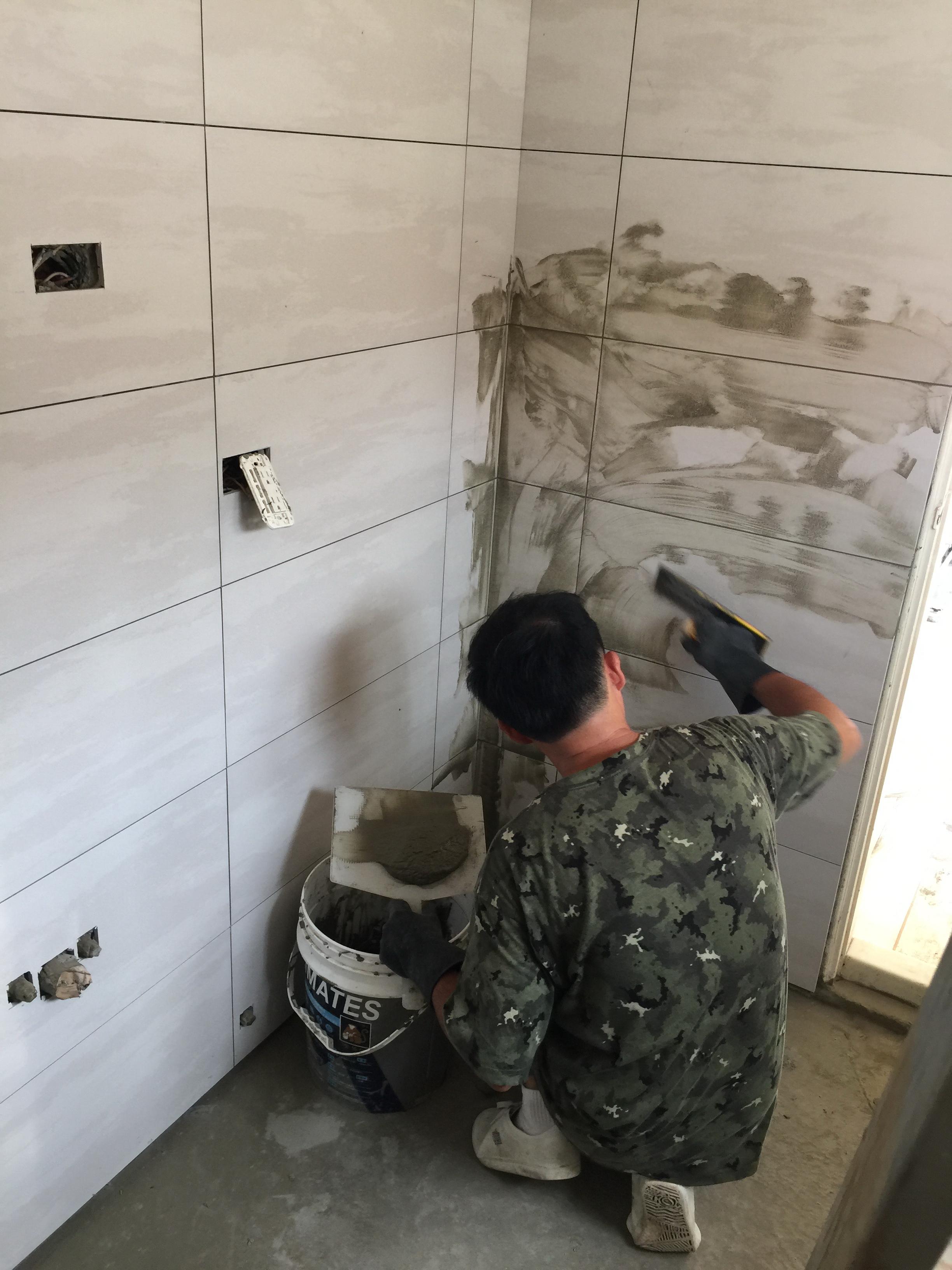 (16)浴廁壁磚填縫工程