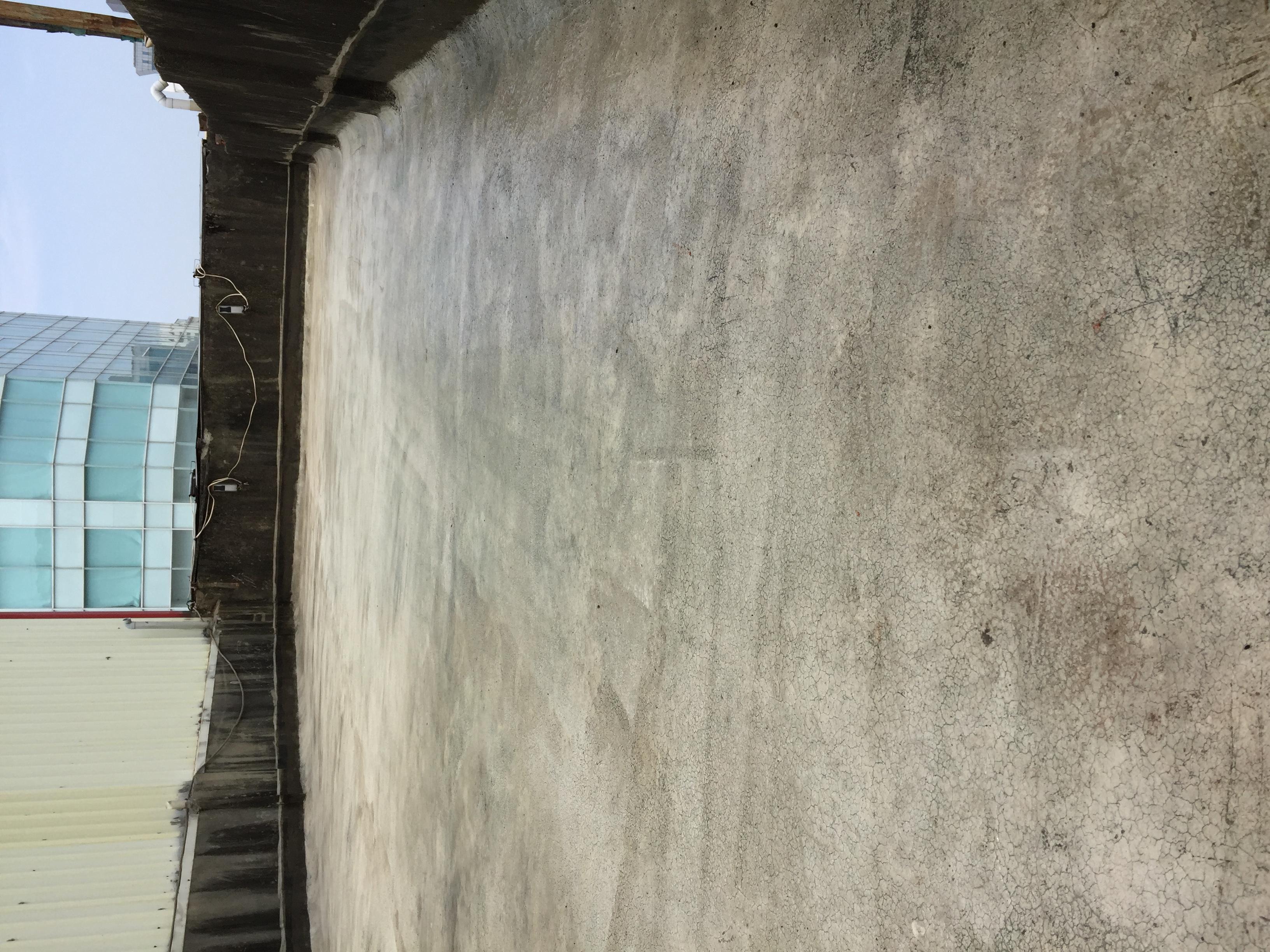 (11)頂樓PU防水工程-底漆