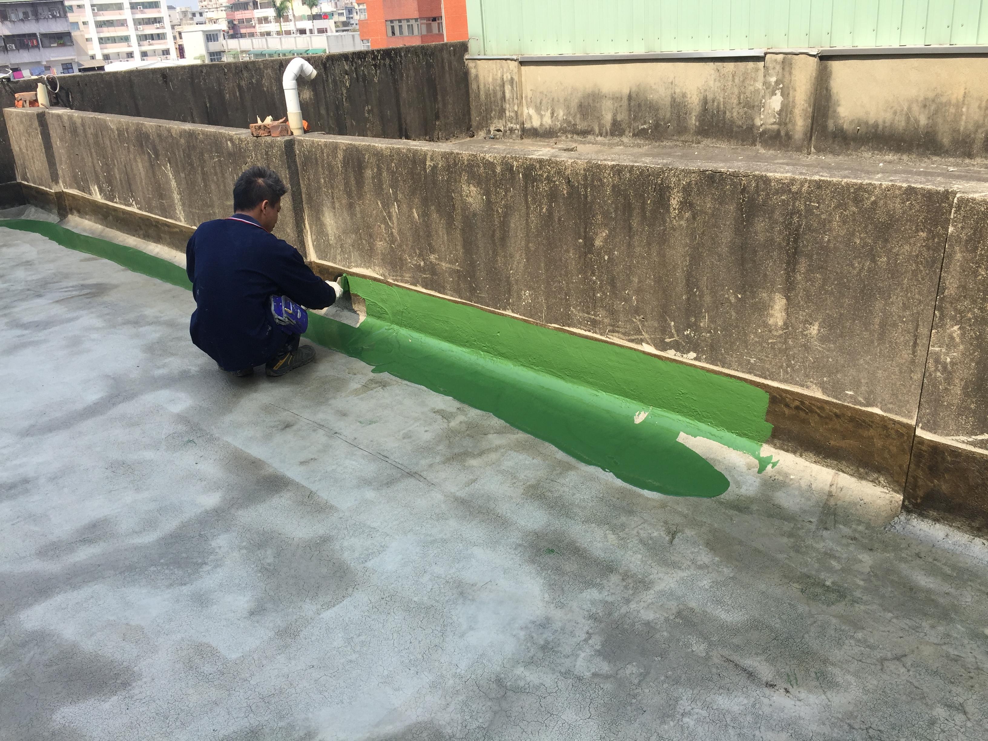 (12)頂樓PU防水工程-中塗層