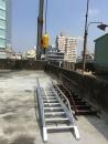 頂樓鐵梯施工 1