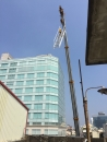 頂樓鐵梯施工 吊掛