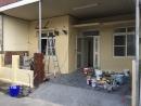 1F室外牆油漆粉刷完成8-5