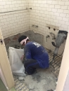 (4)2F浴室泥作浴缸、地板磁磚打除清運