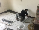 (7)客廳地磚黏貼工程