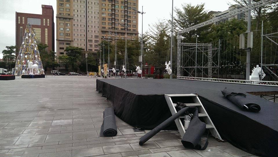 台中市政府活動舞台