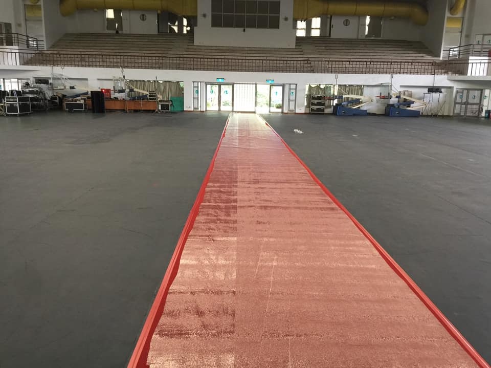 大葉大學活動地毯鋪設 04
