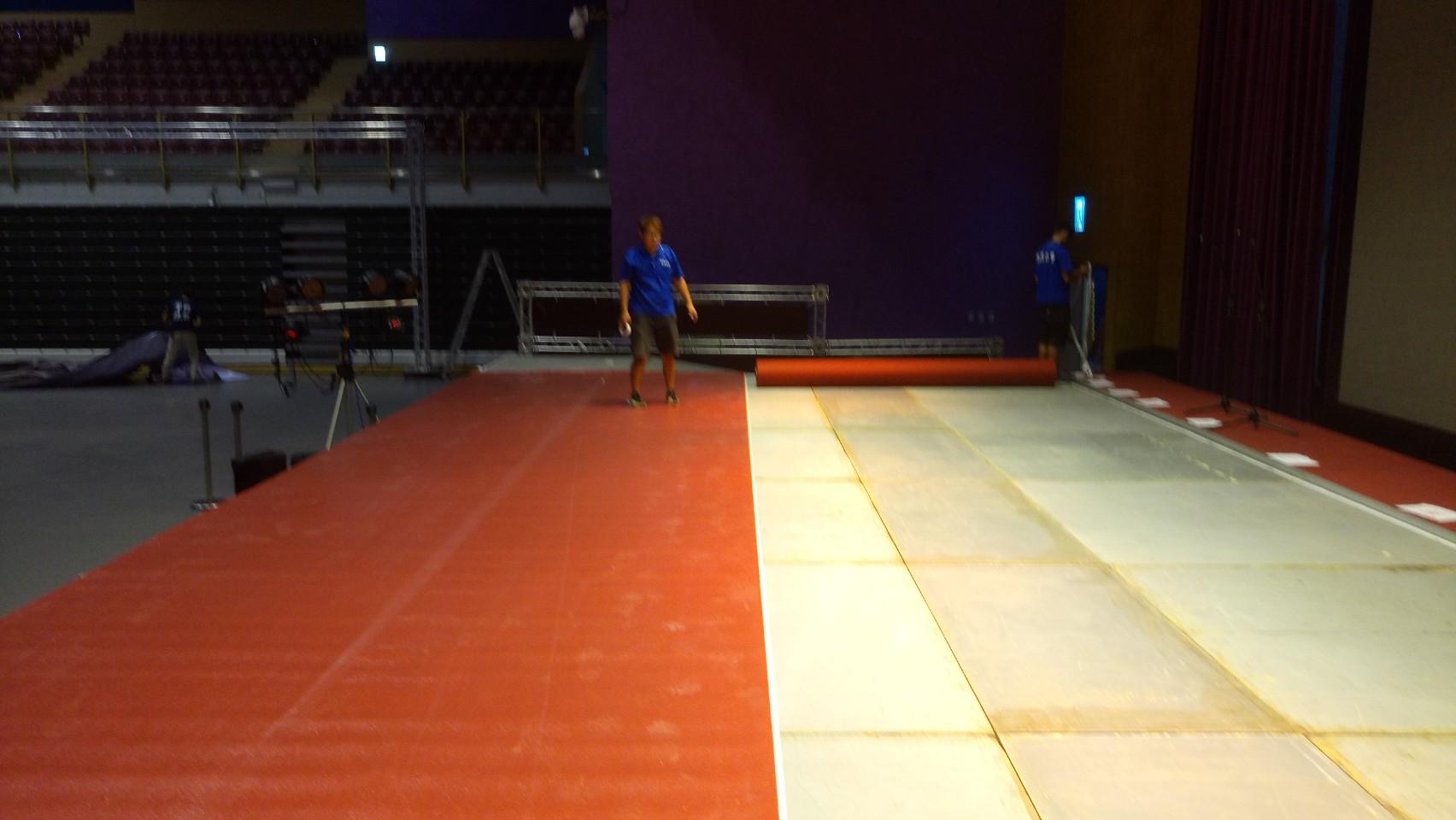 宴會廳婚禮地毯鋪設04