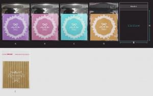 V299OPP彩色自黏糖果袋