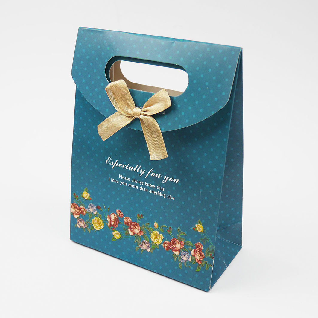 B122 打洞禮品袋-素雅玫瑰