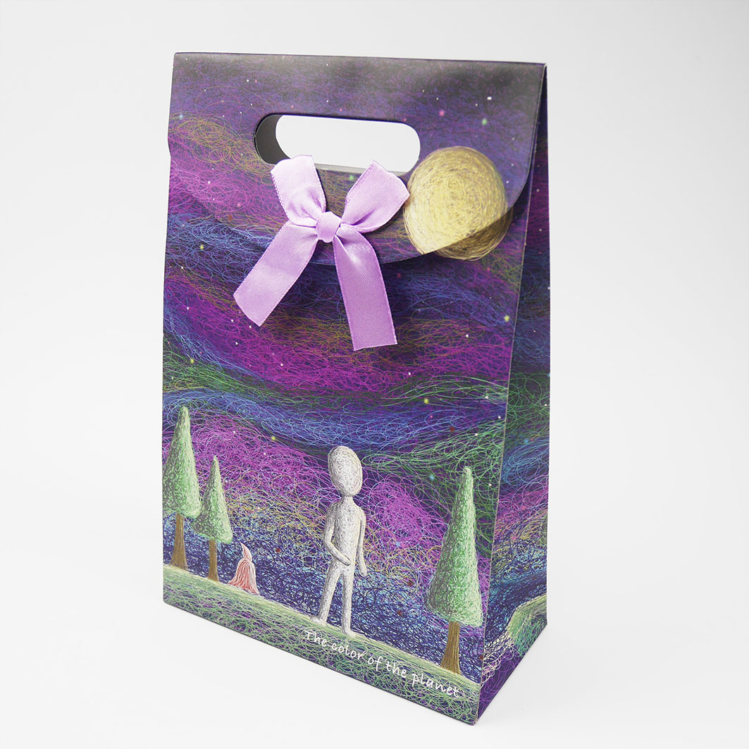 B174_4 打洞禮品袋-魔幻外星
