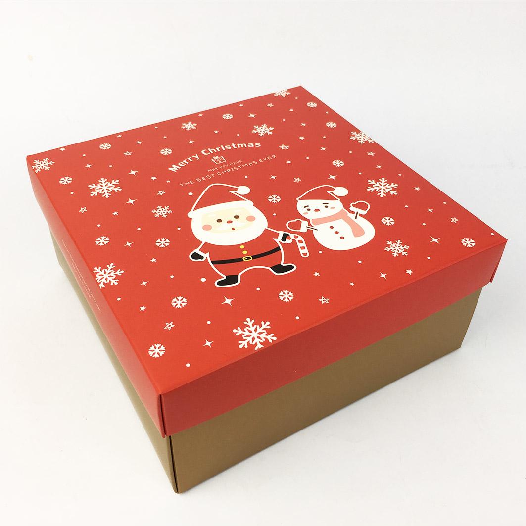 XM21 耶誕系列4吋蛋糕盒-耶誕慶典