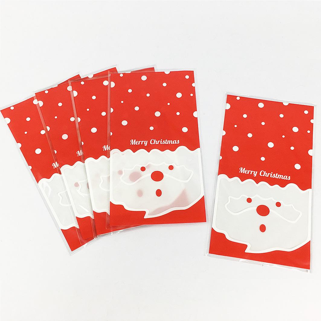 XM03耶誕系列OPP平口袋-聖誕老公公